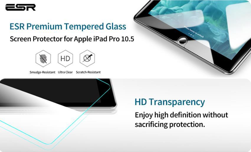 Shatterproof iPad Screen Protectors