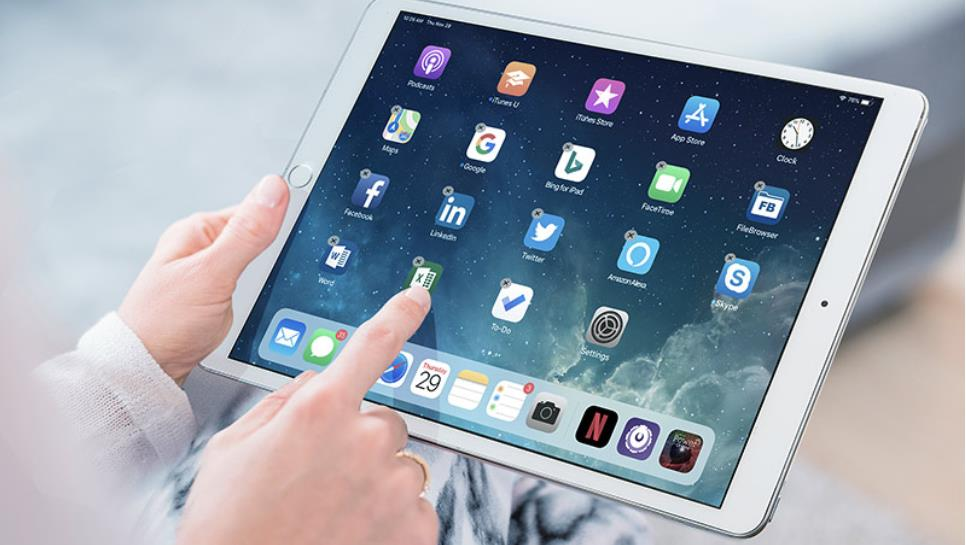 iPad's software
