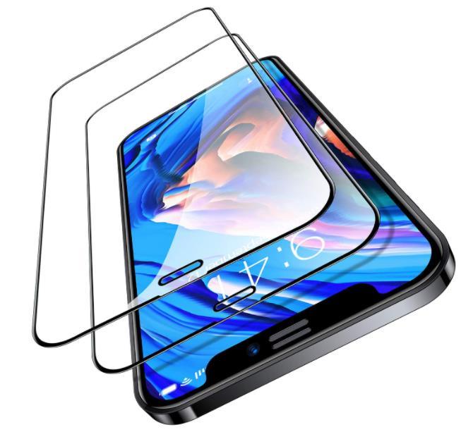 TORRAS Diamonds Hard iPhone 12 Screen Protector