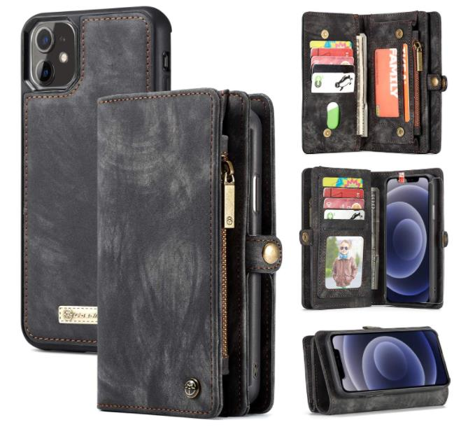 Zttopo Wallet Case Compatible with iPhone 12