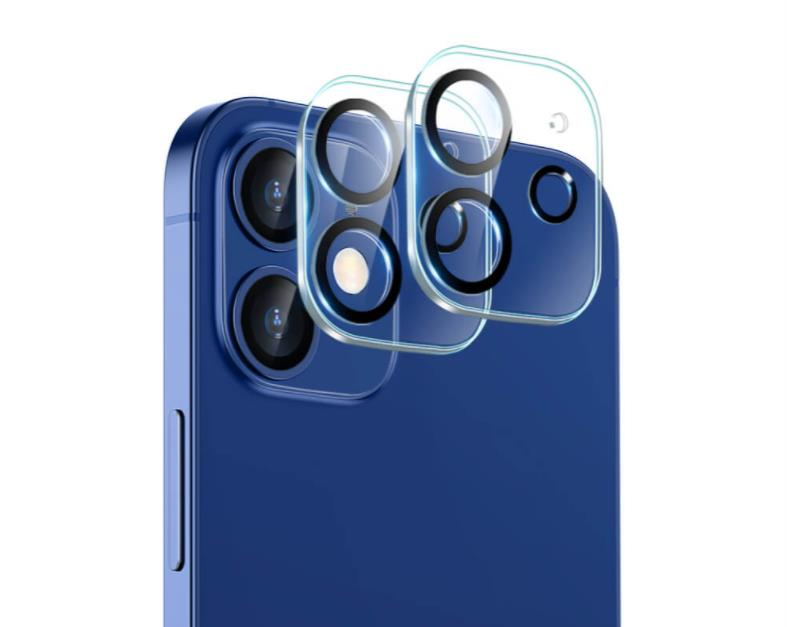 iPhone 12 HD Clear Tempered-Glass Camera Lens Protector