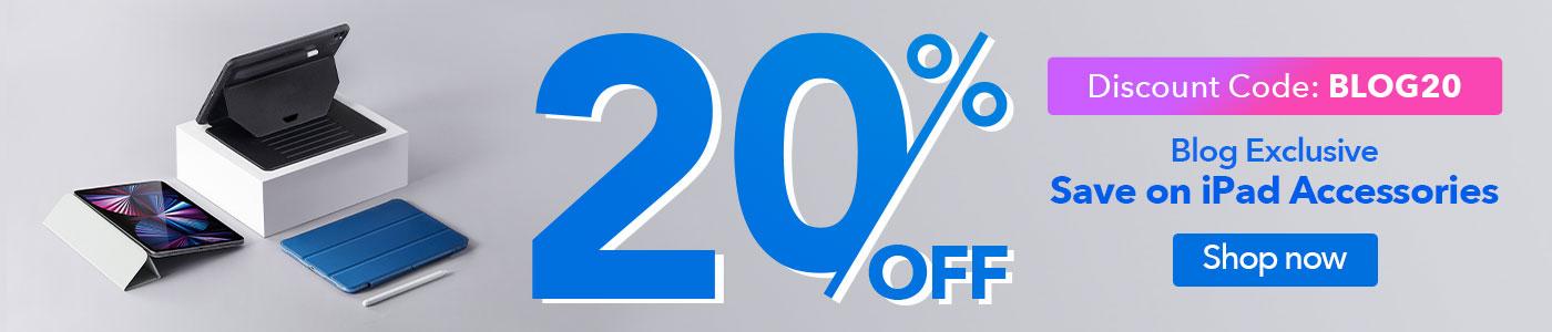 ESR iPad accessories 20% OFF