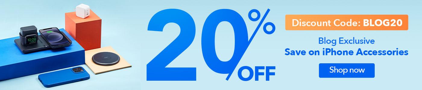 iPhone accessories 20% ESR