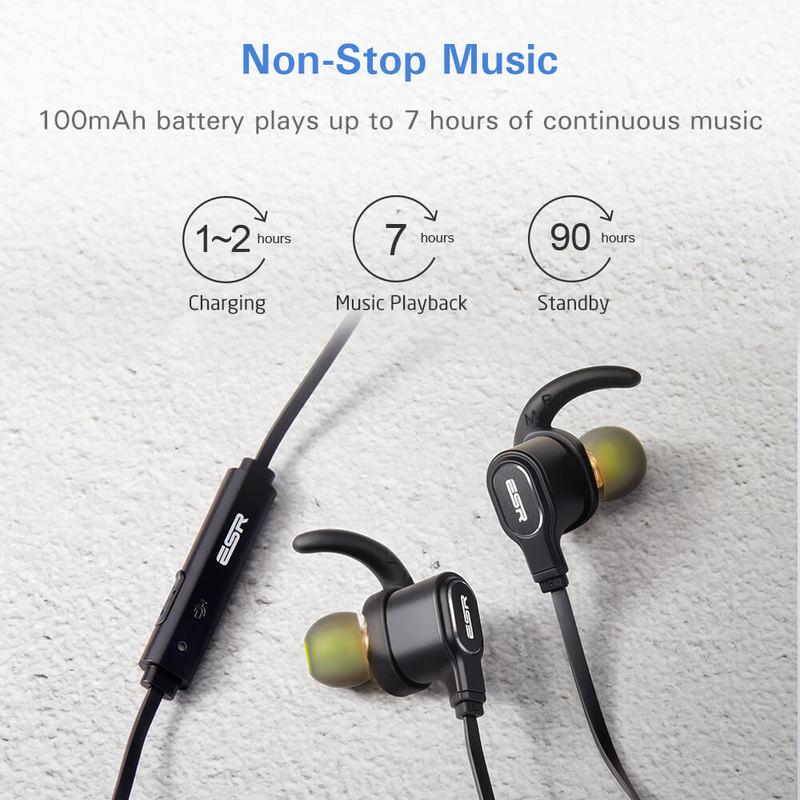 Dual Driver Bluetooth Earphones 3