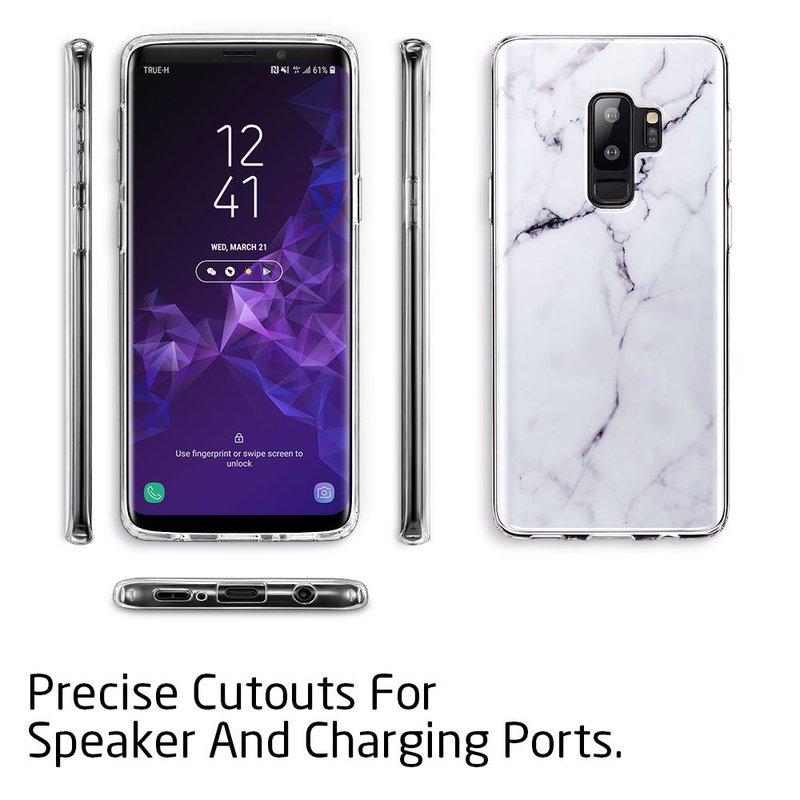 Galaxy S9 Plus Marble Slim Soft Case4