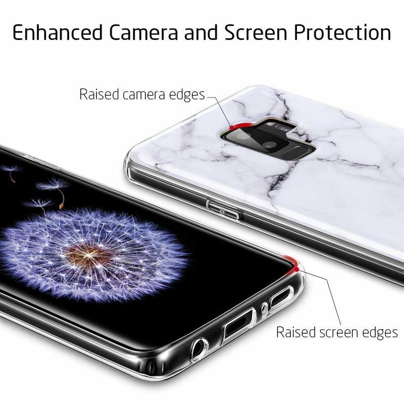 Galaxy S9 Plus Marble Slim Soft Case5