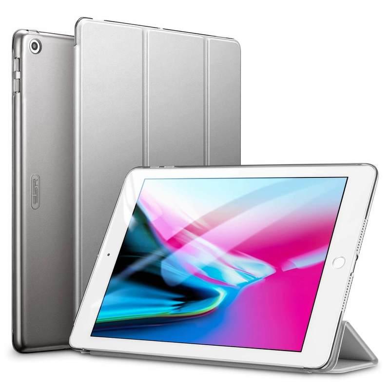 iPad 9.7 2018 2017 Yippee Trifold Smart Case gray