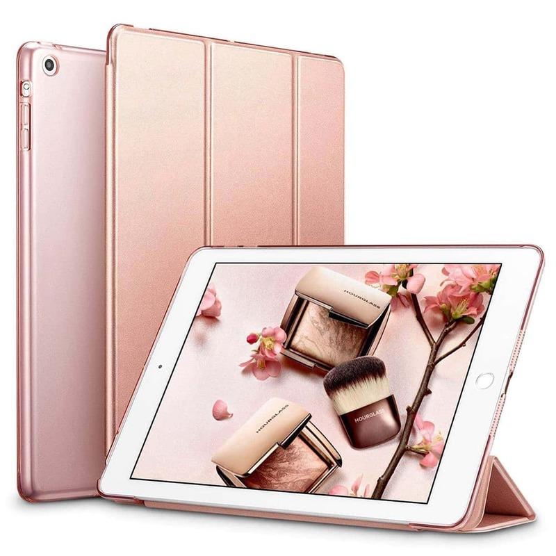 iPad Mini Mini 2 Mini 3 Yippee Trifold Smart Case rose gold