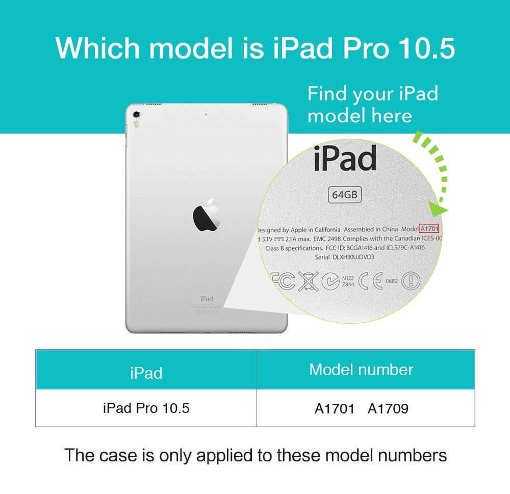 iPad Pro 10.5 Yippee Back Case 6