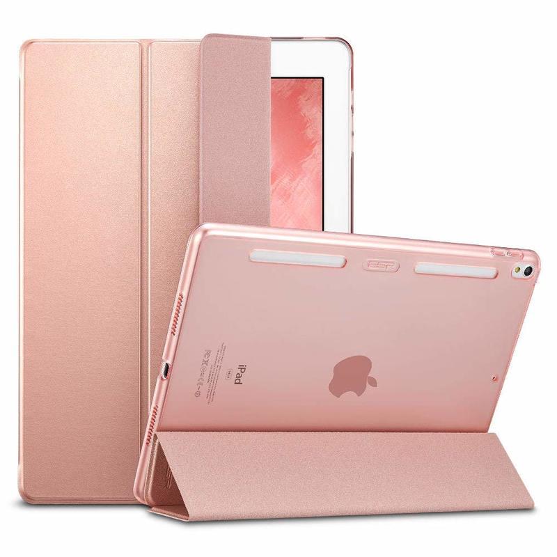 iPad Pro 10.5 Yippee Trifold Smart Bumper Case rosegold