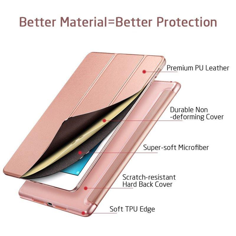 iPad Pro 10.5 Yippee Trifold Smart Bumper Case3