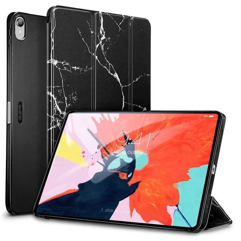 iPad Pro 11 Marble Trifold Case black