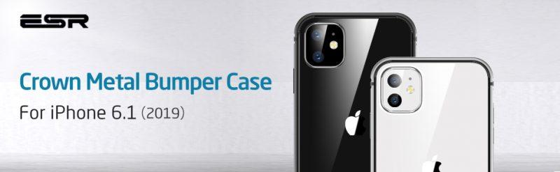 iPhone 11XR Crown Metal Bumper Case 2