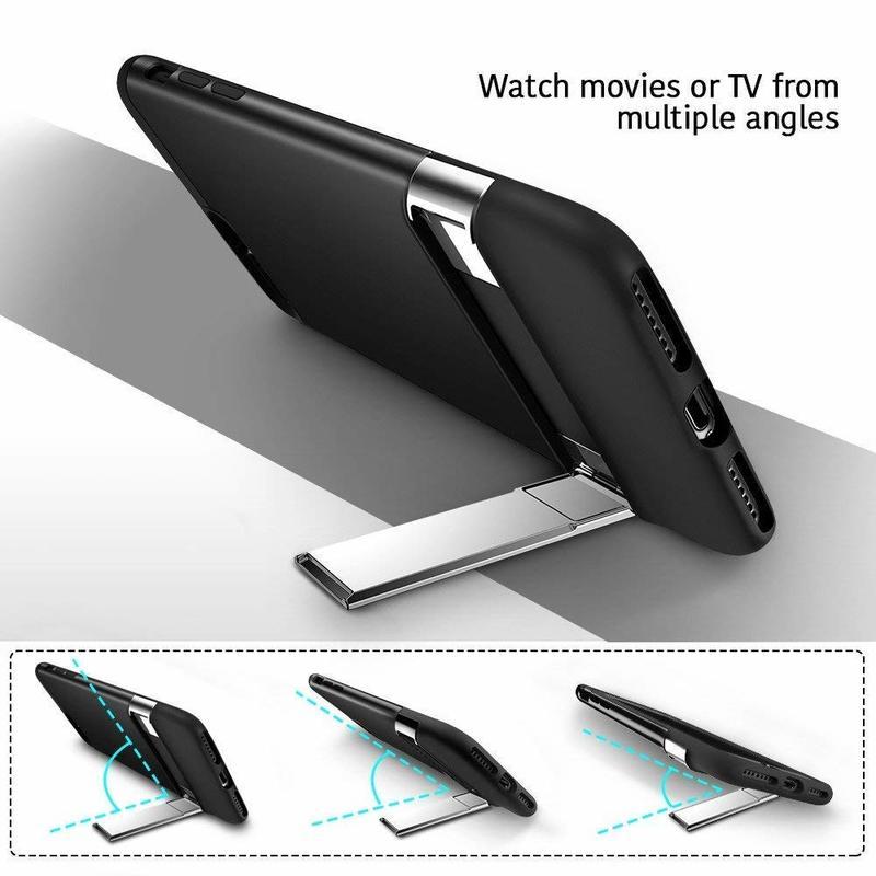 iPhone 8 Plus 7 Plus Metal Kickstand Case2