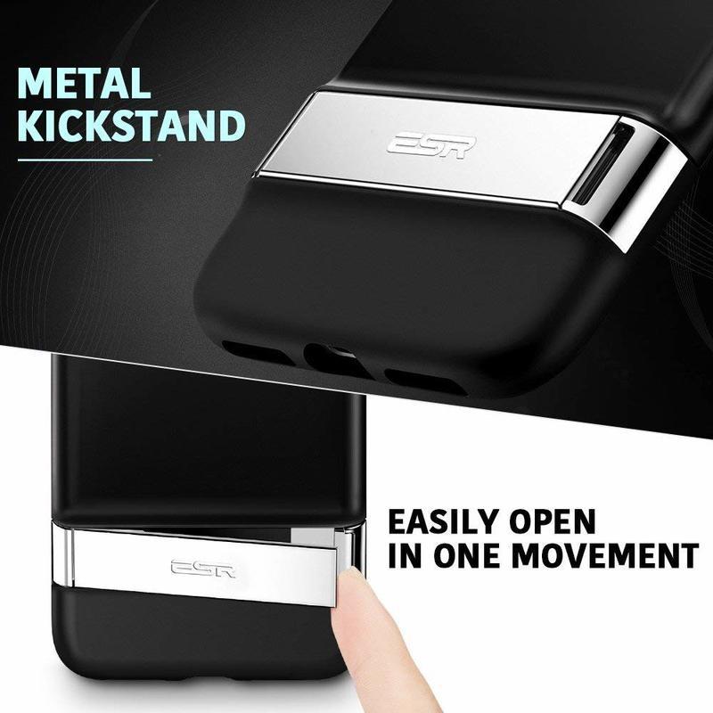 iPhone 8 Plus 7 Plus Metal Kickstand Case3