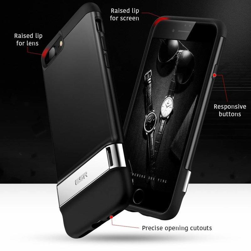iPhone 8 Plus 7 Plus Metal Kickstand Case5