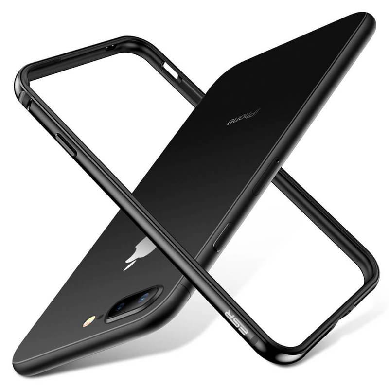 iPhone 8 Plus7 Plus Crown Metal Bumper Case black