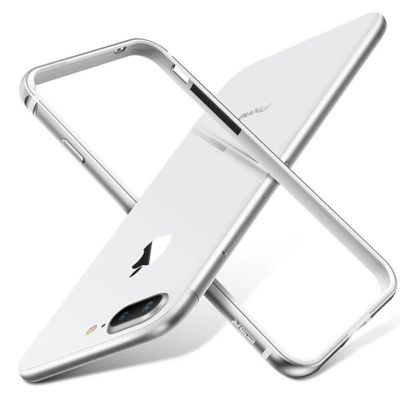 iPhone 8 Plus7 Plus Crown Metal Bumper Case silver