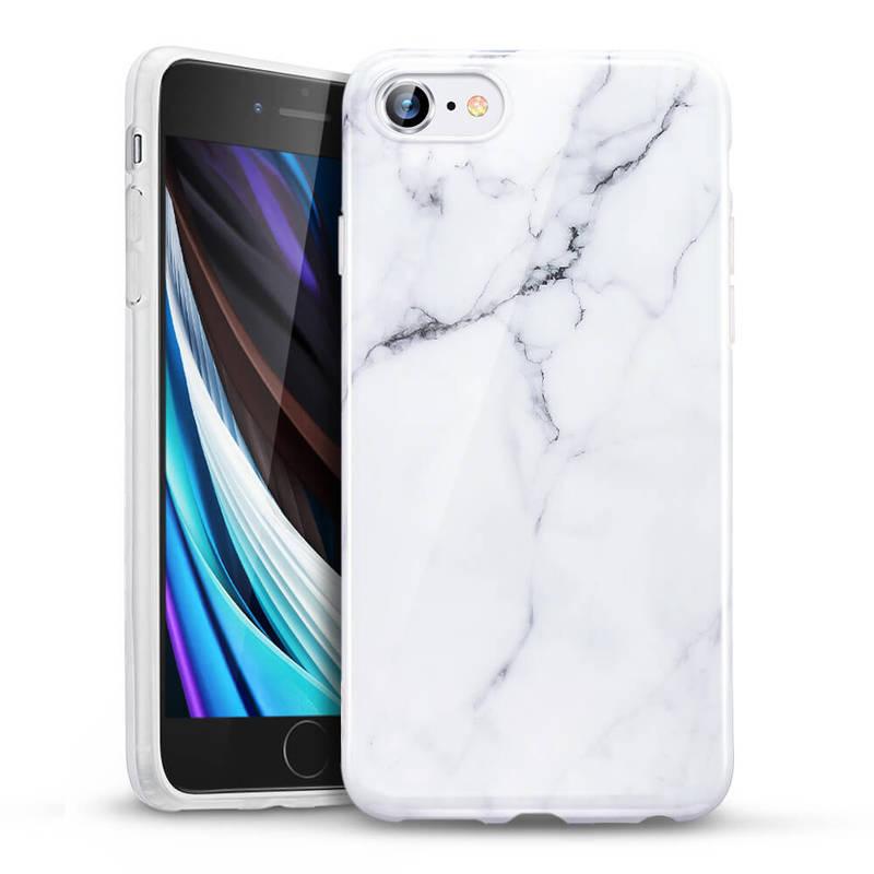 iPhone SE 202087 Marble Slim Soft Case 4