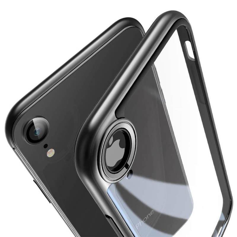 iphone xr case black bumper
