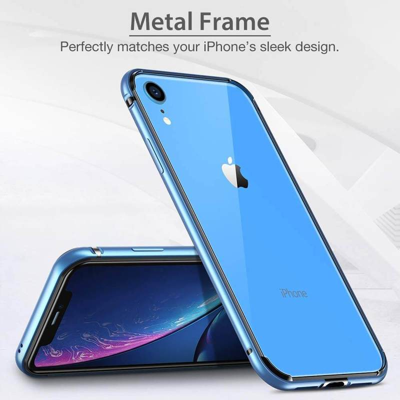 iPhone XR Crown Metal Bumper Case 5