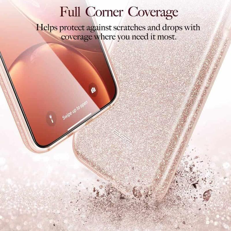 iPhone XR Makeup Glitter Case 4