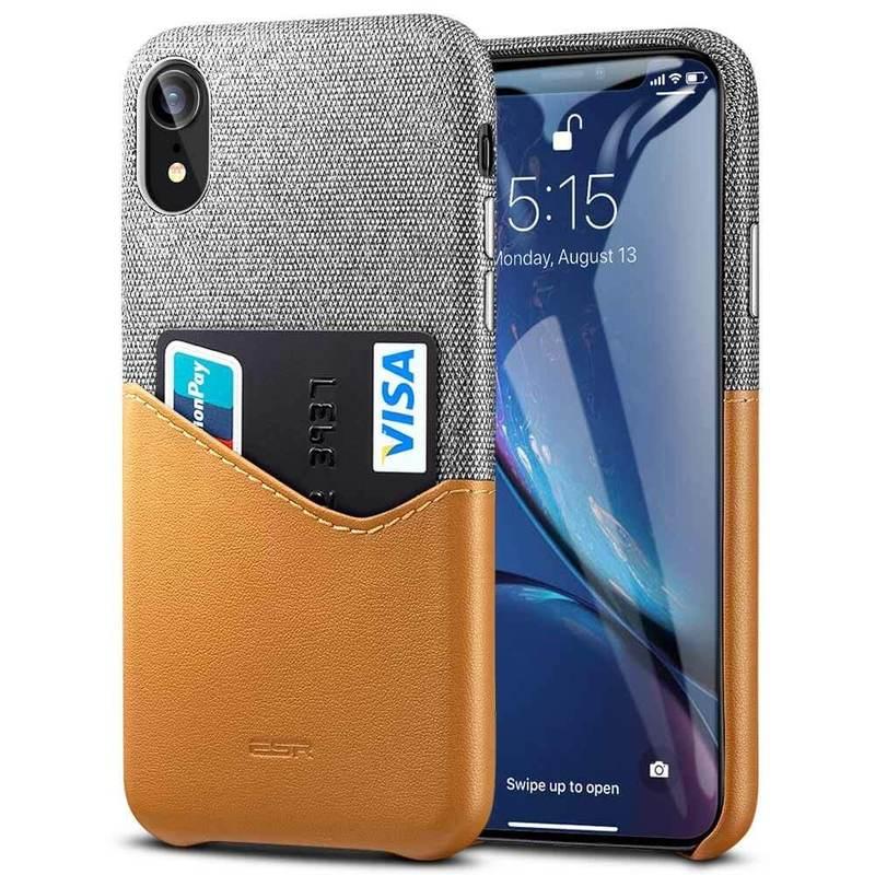 iPhone XR Metro Wallet Case brown