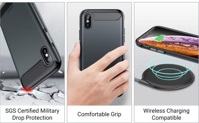 iPhone XSX Rambler Rugged Heavy Duty Case 1