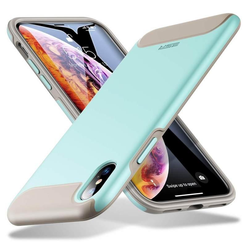 iPhone XSX Rambler Rugged Heavy Duty Case mint green