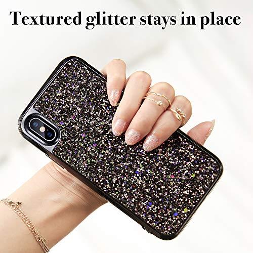 iphone xs max glitter hard case 3