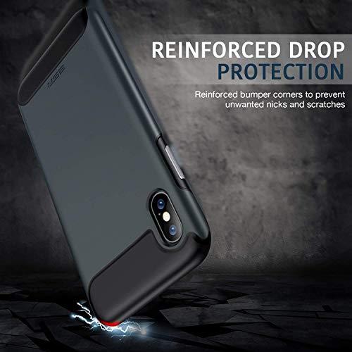 iphone xs x rambler rugged heavy duty case 1