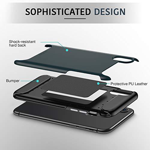 iphone xs x rambler rugged heavy duty case 2