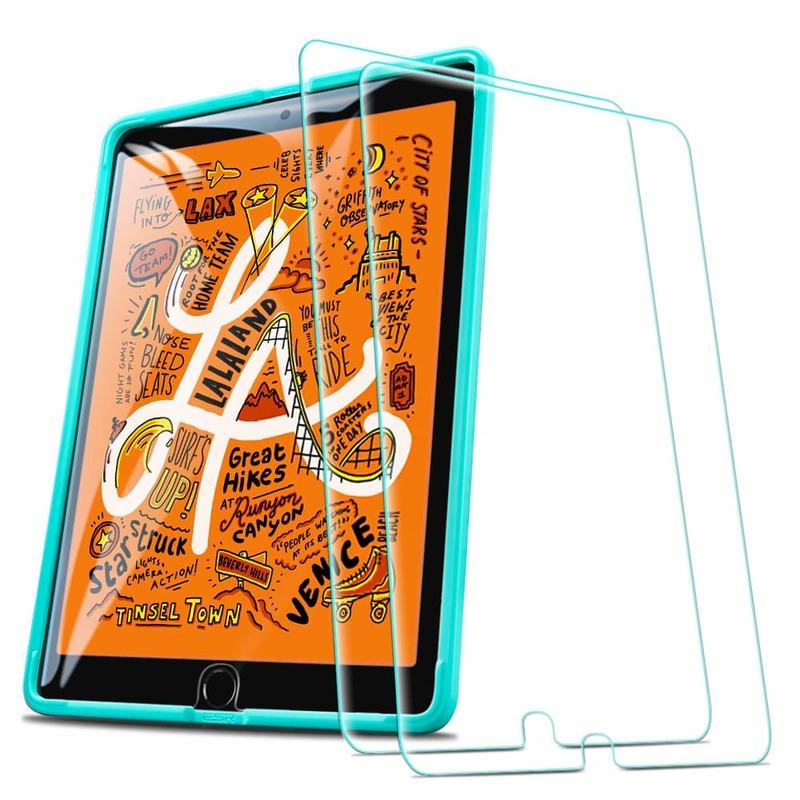 iPad Mini 5 2019Mini 4 Tempered Glass Screen Protector 2 pack