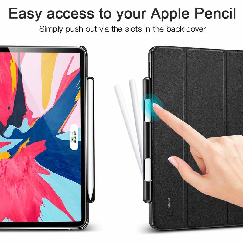 iPad Pro 12.9 2018 Yippee Pencil Trifold Case 2