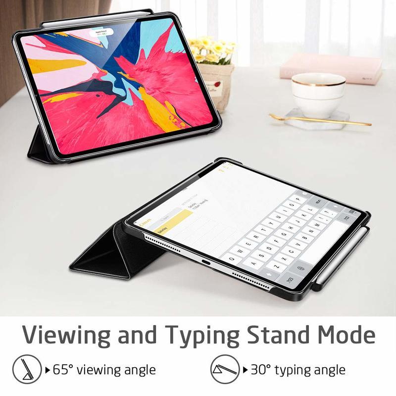 iPad Pro 12.9 2018 Yippee Pencil Trifold Case 3