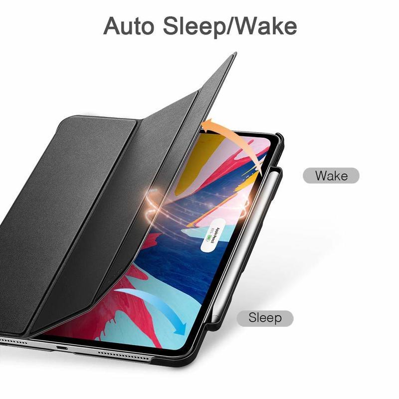 iPad Pro 12.9 2018 Yippee Pencil Trifold Case 4