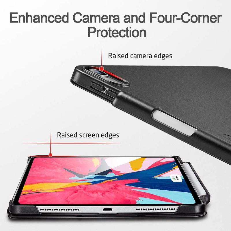 iPad Pro 12.9 2018 Yippee Pencil Trifold Case 5