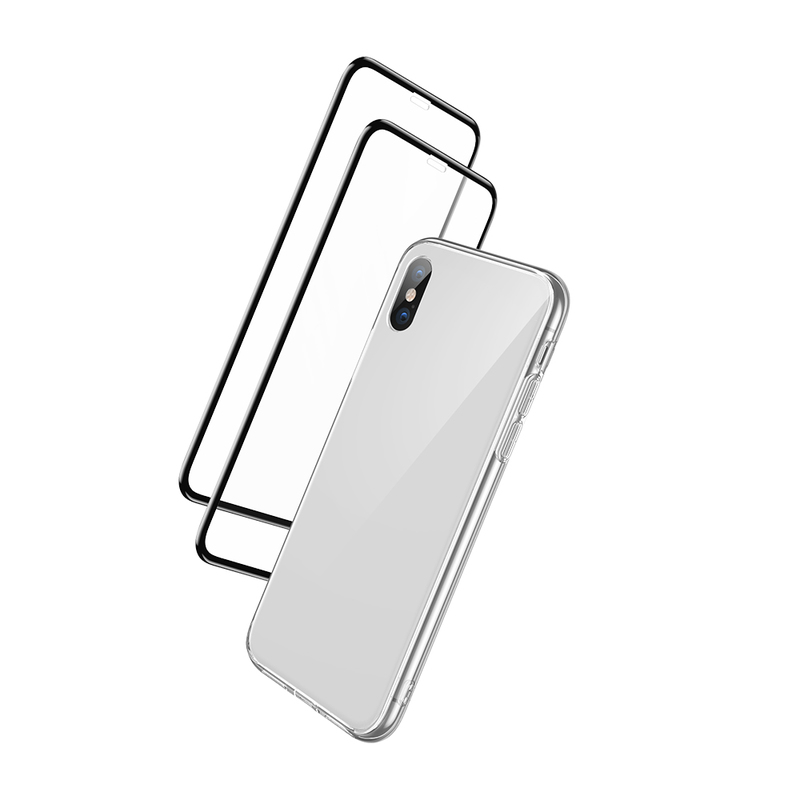 iPhone XS Max Full Coverage Protection Combo white