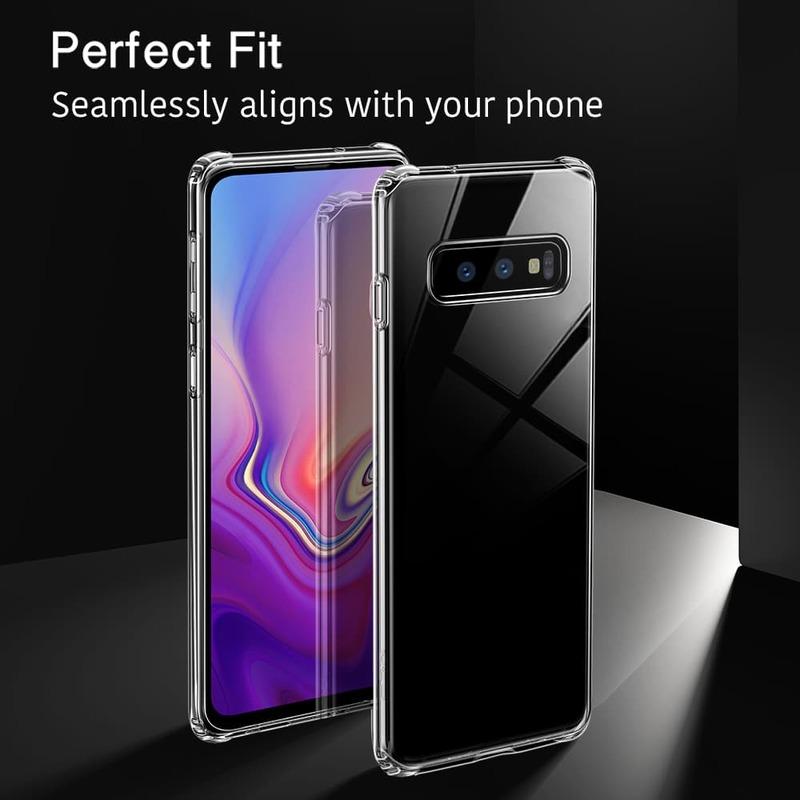 Galaxy S10 E Essential Slim Clear Soft TPU Case 3