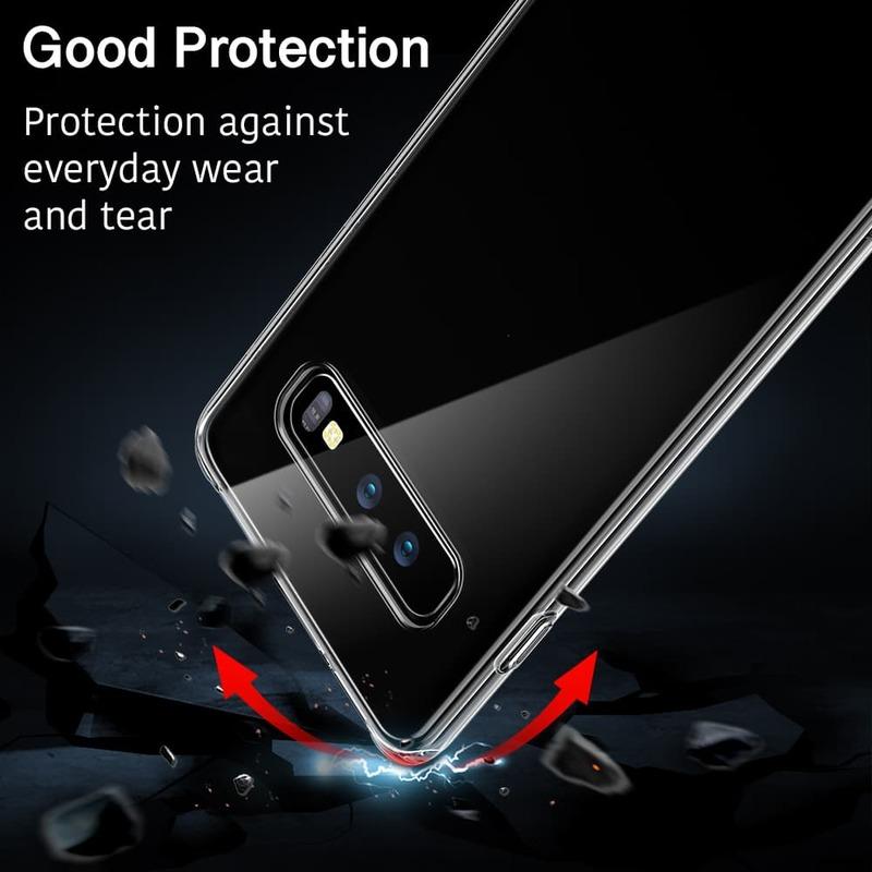 Galaxy S10 E Essential Slim Clear Soft TPU Case 4