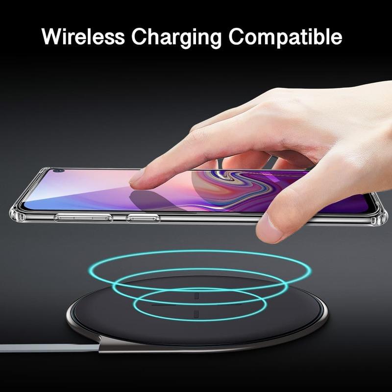 Galaxy S10 E Essential Slim Clear Soft TPU Case 5