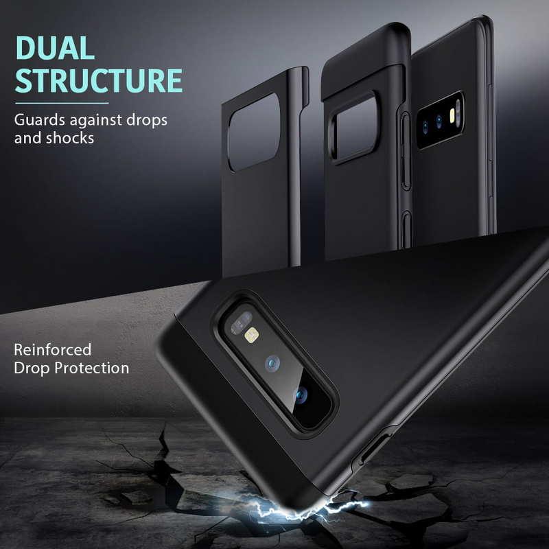 Galaxy S10 E Metal Kickstand Case 3