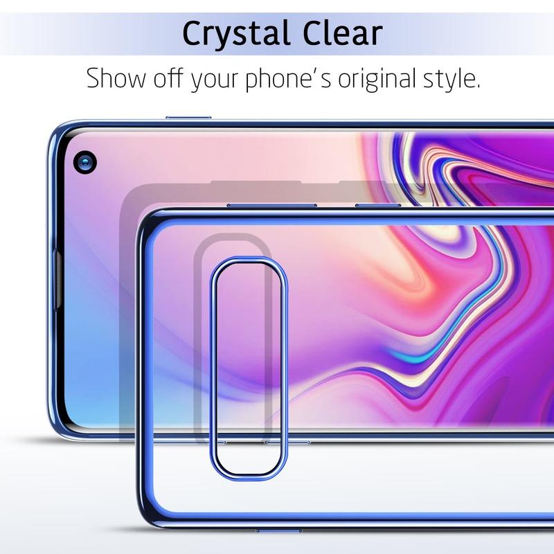 Galaxy S10 Essential Slim Clear Soft TPU Case 2