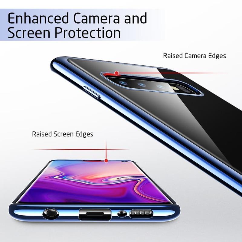 Galaxy S10 Essential Slim Clear Soft TPU Case 4