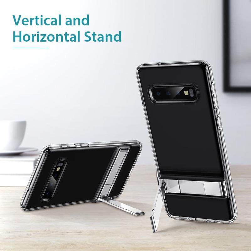 Galaxy S10 Metal Kickstand Case 1