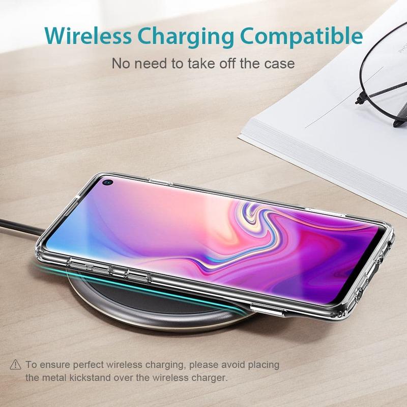 Galaxy S10 Metal Kickstand Case 4