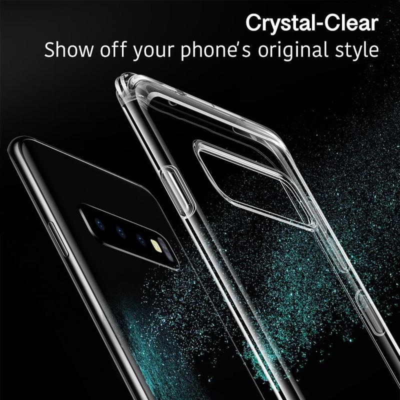 Galaxy S10 Plus Essential Guard Clear Case 2