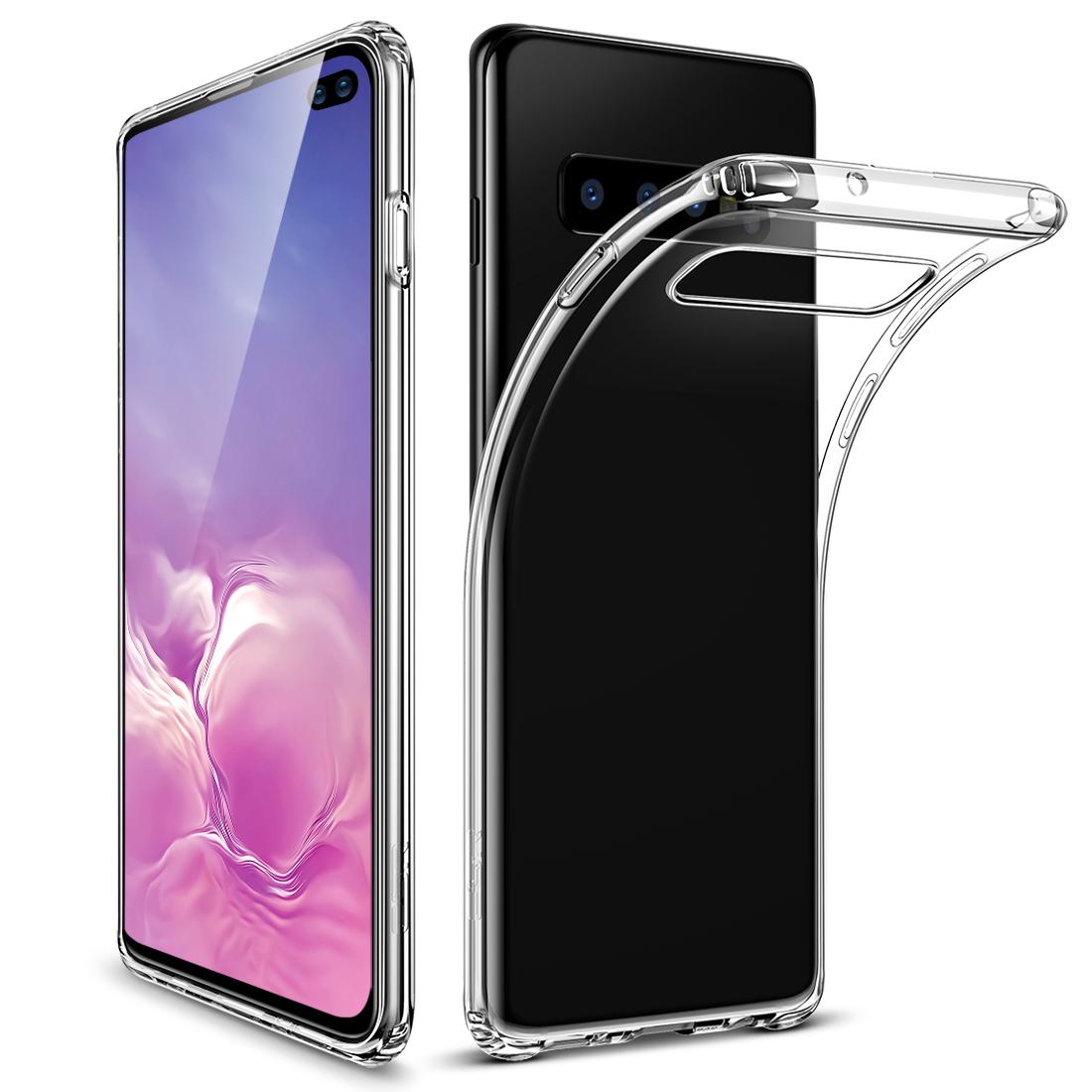 Galaxy S10 Plus Essential Slim Clear Soft TPU Case 9