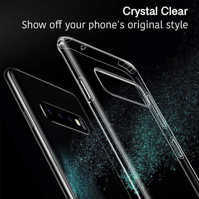Galaxy S10 Plus Essential Slim Clear Soft TPU Case