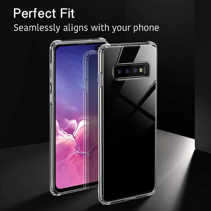 Galaxy S10 Plus Essential Slim Clear Soft TPU Case1